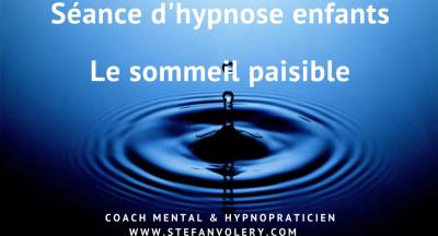 Séance d'hypnose enfants – Le sommeil paisible