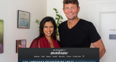 Le Figaro Madame – Mala & Stefan Volery, coach et hypno praticiens, délivrent les clés du mieux-être